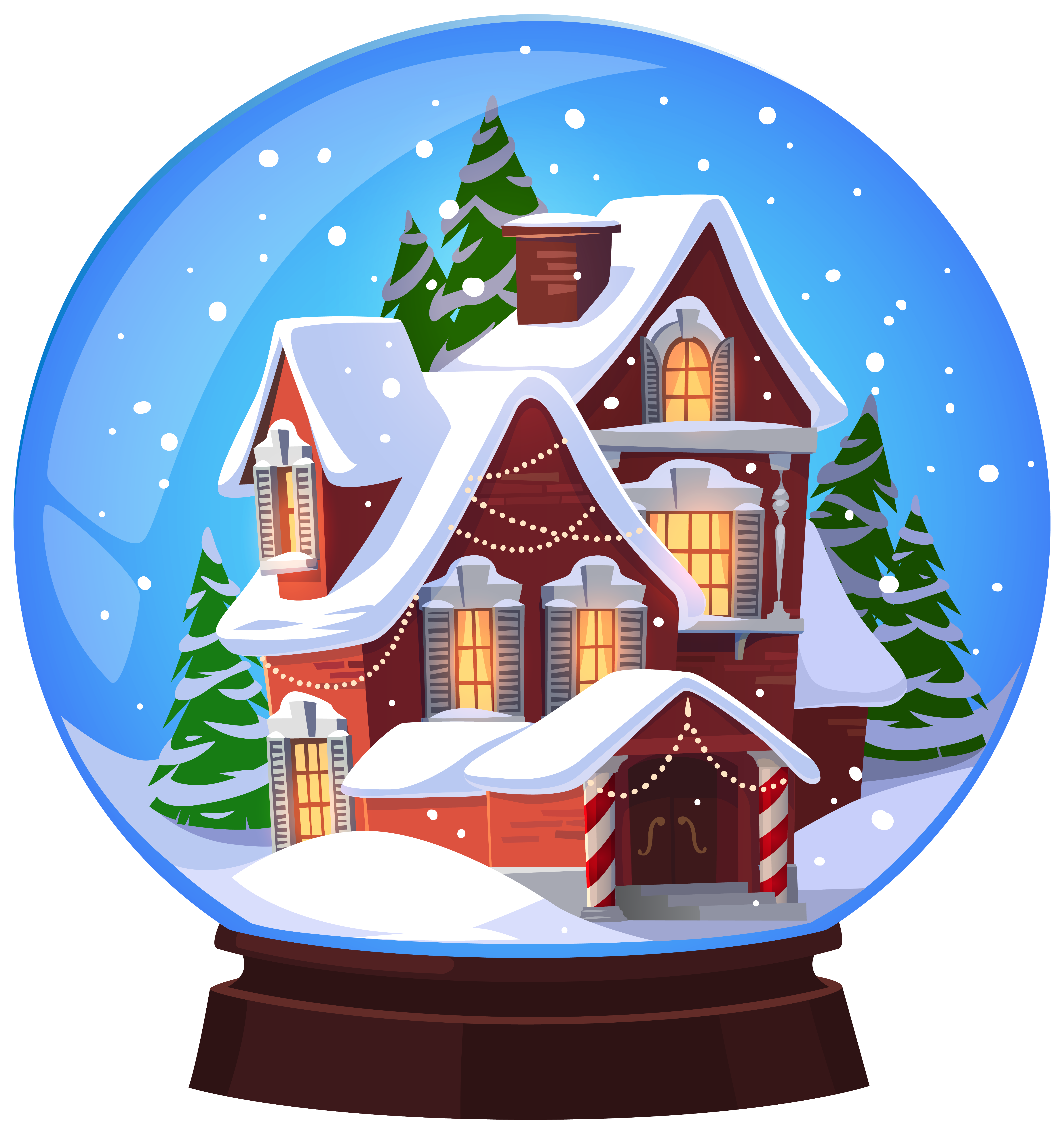 Beach clipart snow globe View Clip full Christmas Gallery