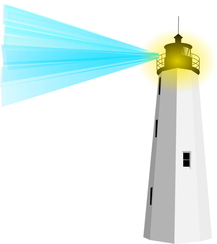 Lighthouse clipart beach swimming Clip Beacon Art – Clip