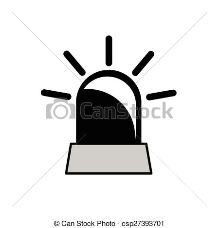 Beacon clipart  black rotating of rotating