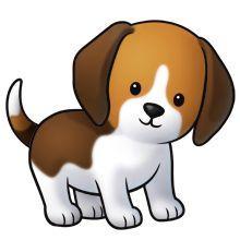 Puppy clipart Y