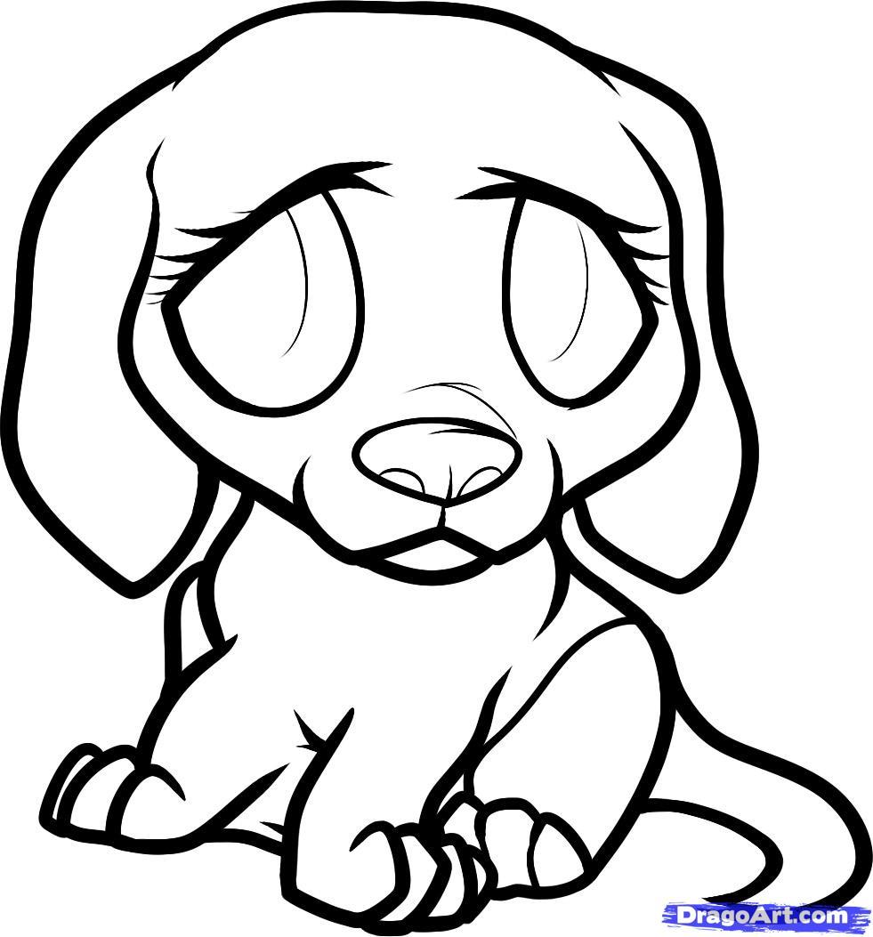 Drawn puppy dragoart Clipart sad%20puppy%20cartoon Panda Images Puppy