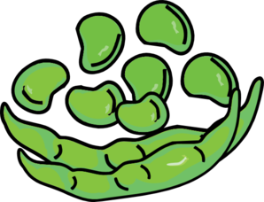 Bean clipart corn seed Pod com Pod clip And