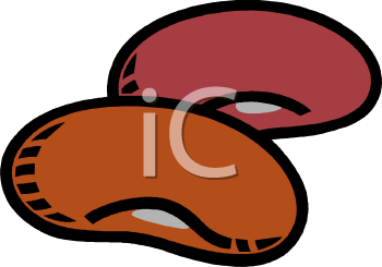 Bean clipart colorful Big Clipart Bean