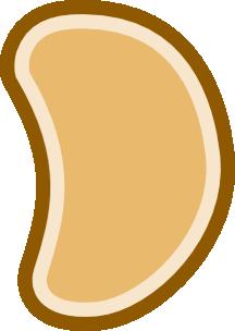 Bean clipart Clip Bean Clker at vector