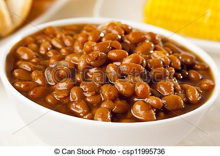 Bean clipart baked bean Csp11995736 Photos Baked on Homemade