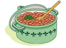 Bean clipart baked bean Dish PBS Recipe Food Baked