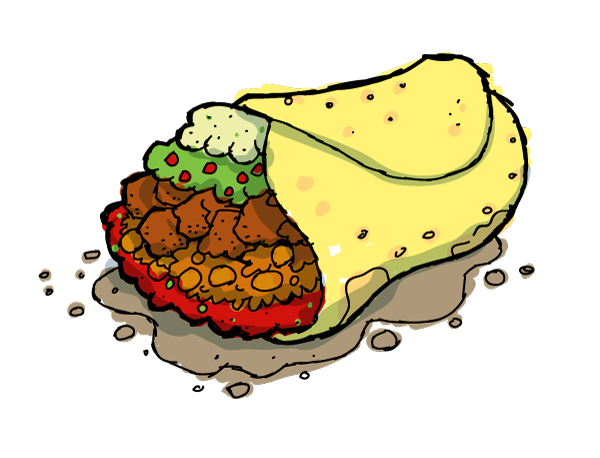 Tacos clipart Food clipart images image clipart