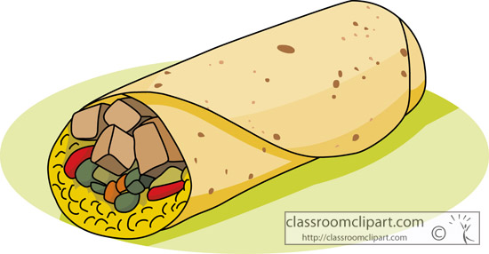 Tacos clipart mexican restaurant Clipart Free Images Clipart Burrito