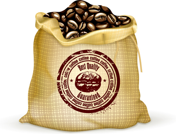 Coffee Plant clipart vector png Download bean bag (1 vector