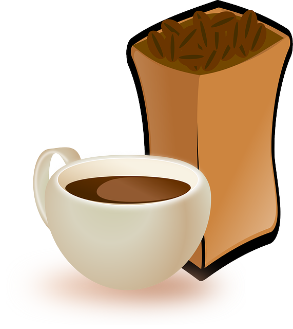 Bean clipart coffee bean bag Coffee of of  and