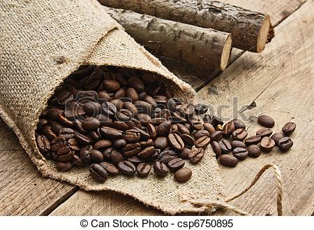Bean clipart coffee bean bag Bag Images of collection Stock