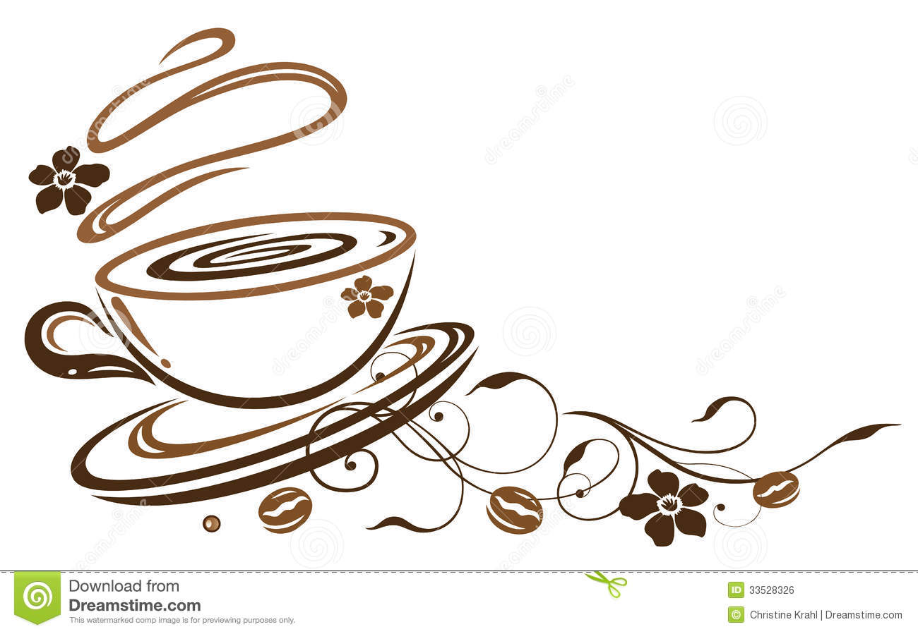 Beans clipart coffee cup Border Cup Coffee Clipart Border