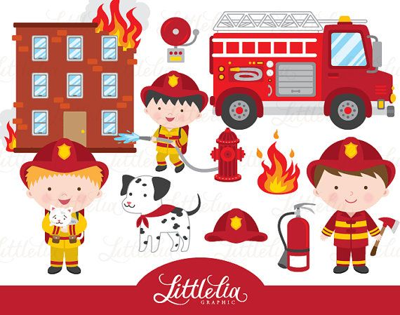 Bean clipart fire And LittleLiaGraphic 1521 Rescue Fire