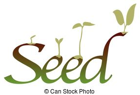 Seeds clipart seed germination White seed seeds Germinating Germinating