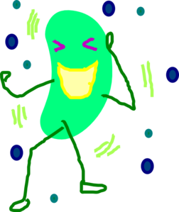 Bean clipart green jelly Jelly Laugh clip art Art