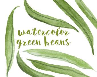 Beans clipart green vegetable Bean clipart Green Green Clipart