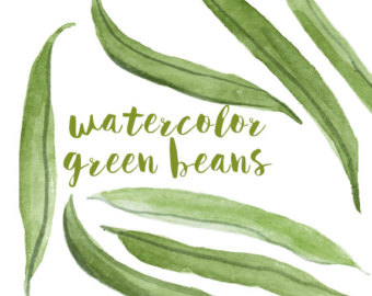 Beans clipart green vegetable Bean Green Clipart Veggie Bean