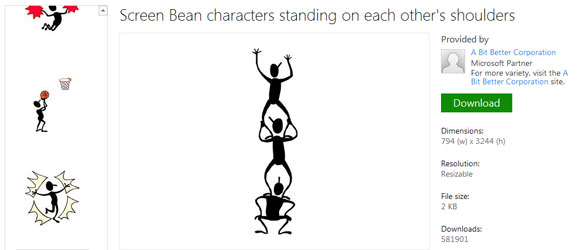 Beans clipart powerpoint Figures Stick Presentations Drawing for