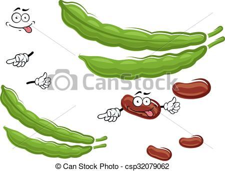 Beans clipart vegetable Fresh Art vegetable fresh Vector