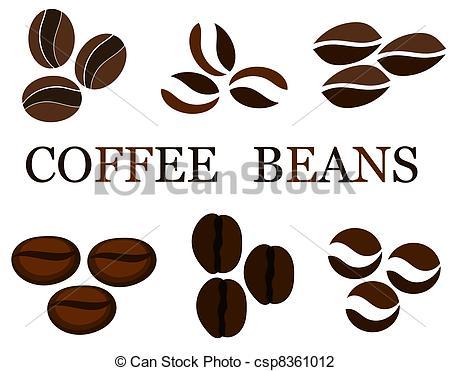 Beans clipart can bean Various beans  Coffee in