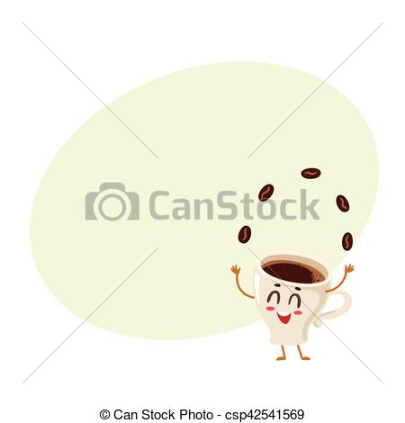Beans clipart funny Energetic espresso energetic beans of