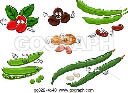 Beans clipart sweet pea Roasted green Coffee peanuts and