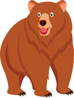 Bear clipart Illustrations Size: Graphics Pictures clipart