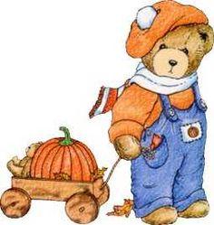 Bear clipart autumn #8