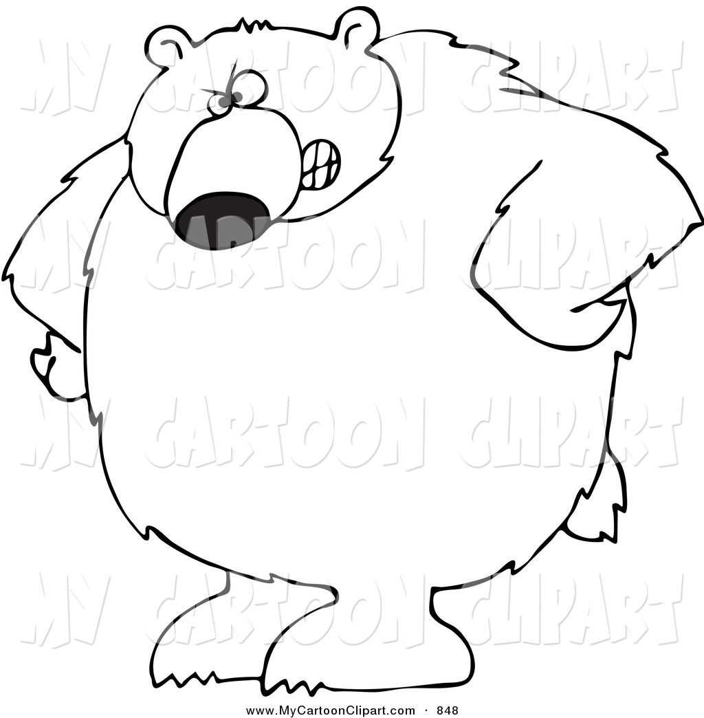 Black Bear clipart cartoon Clipart standing%20black%20bear%20drawing Clipart Free Drawing