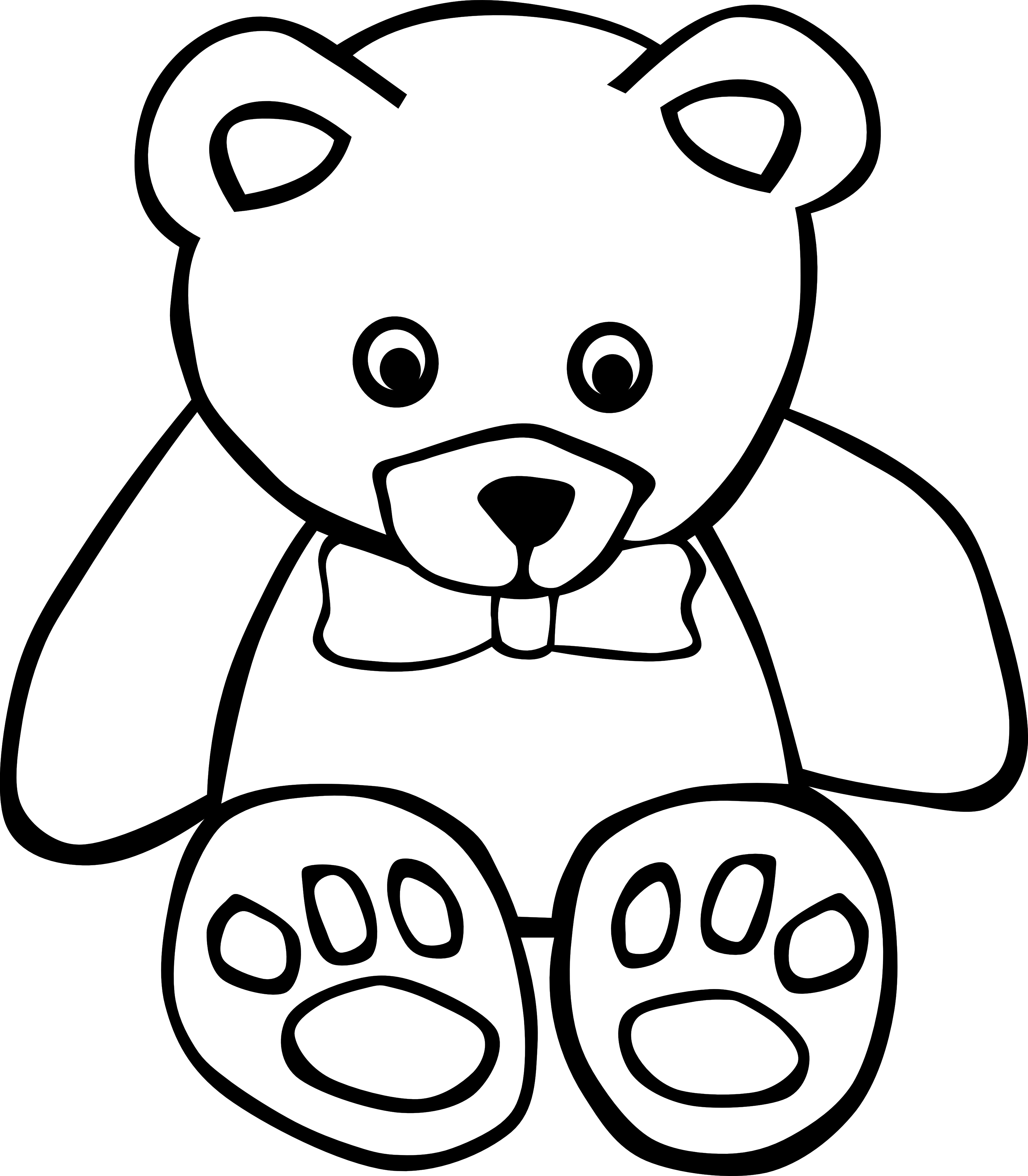 Bear clipart easy Clip Free Download Clipart Clip