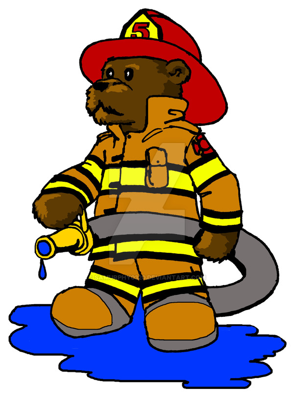 Bear clipart firefighter On Firefighter by Samurphy0320 DeviantArt