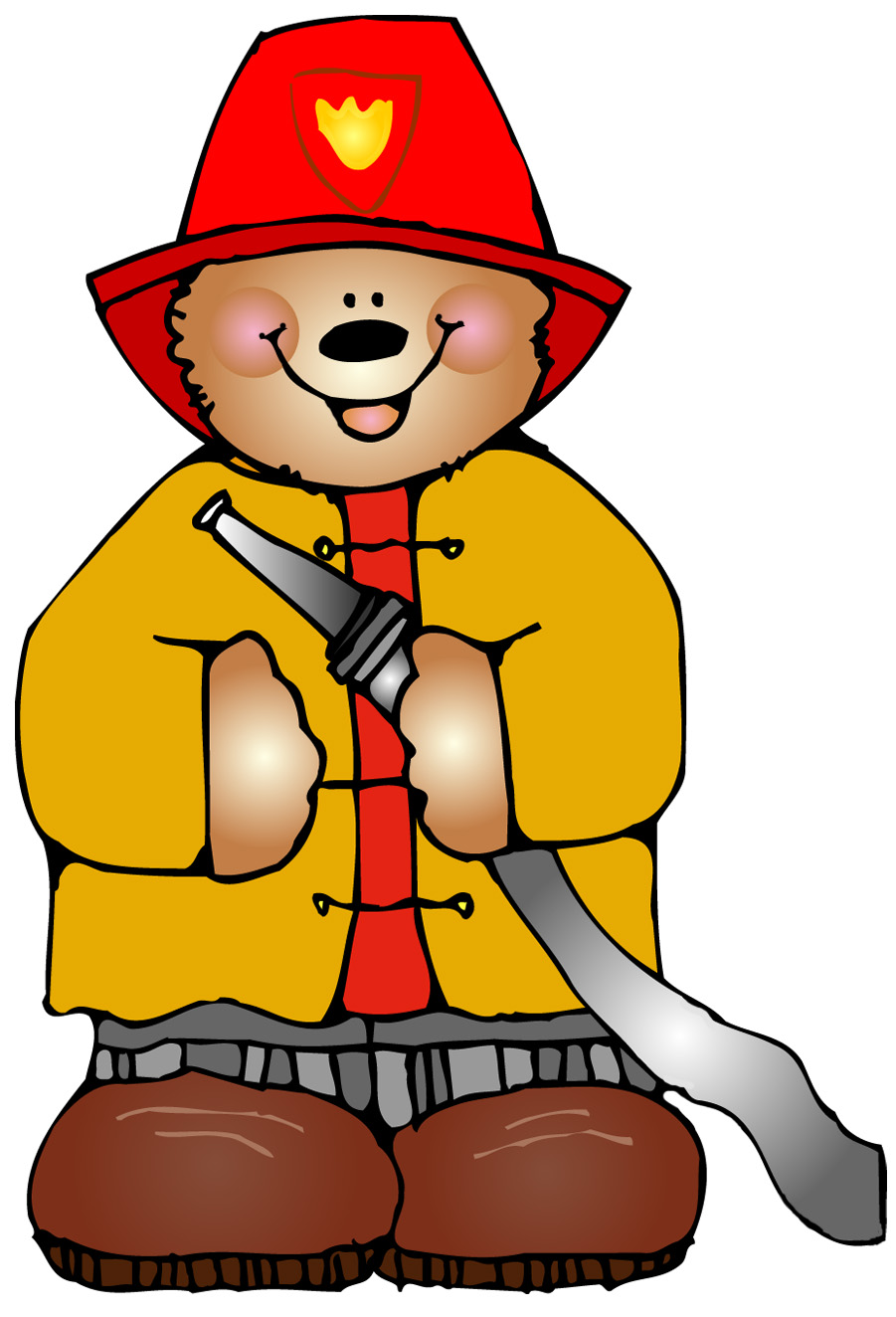 Bear clipart firefighter Week Fire Sunday 9 2011