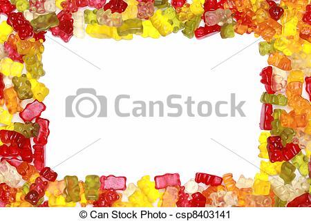 Bear clipart frame  up Gummy Bears Photography