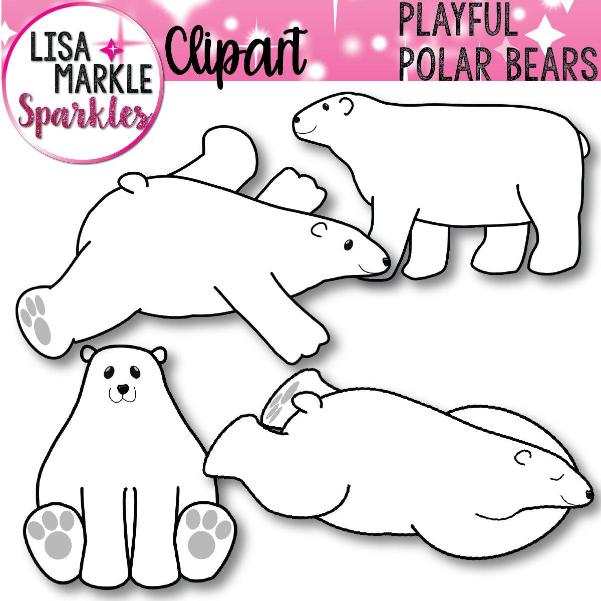 Bear clipart north #9