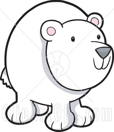 Bear clipart nose Clipart Polar  Nose Bear