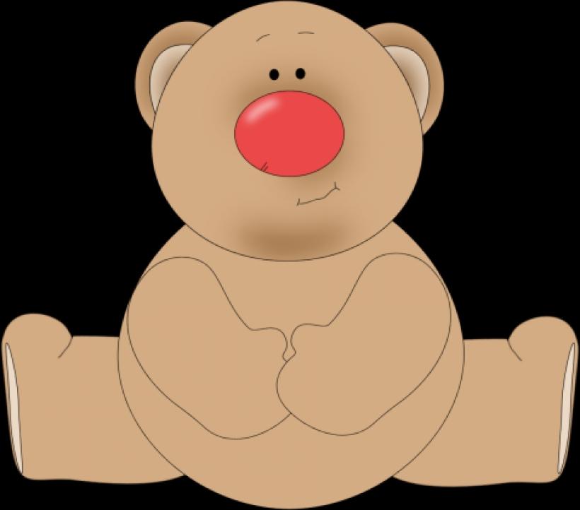 Bear clipart nose Red clip nose 478 bear