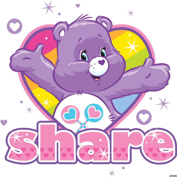 Bear clipart rainbow Cariñosos: and posters Birthdays collection