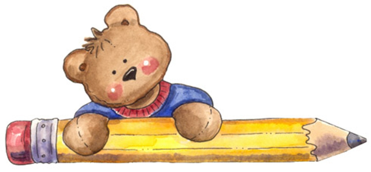 Bear clipart student School Reflecting on Students At