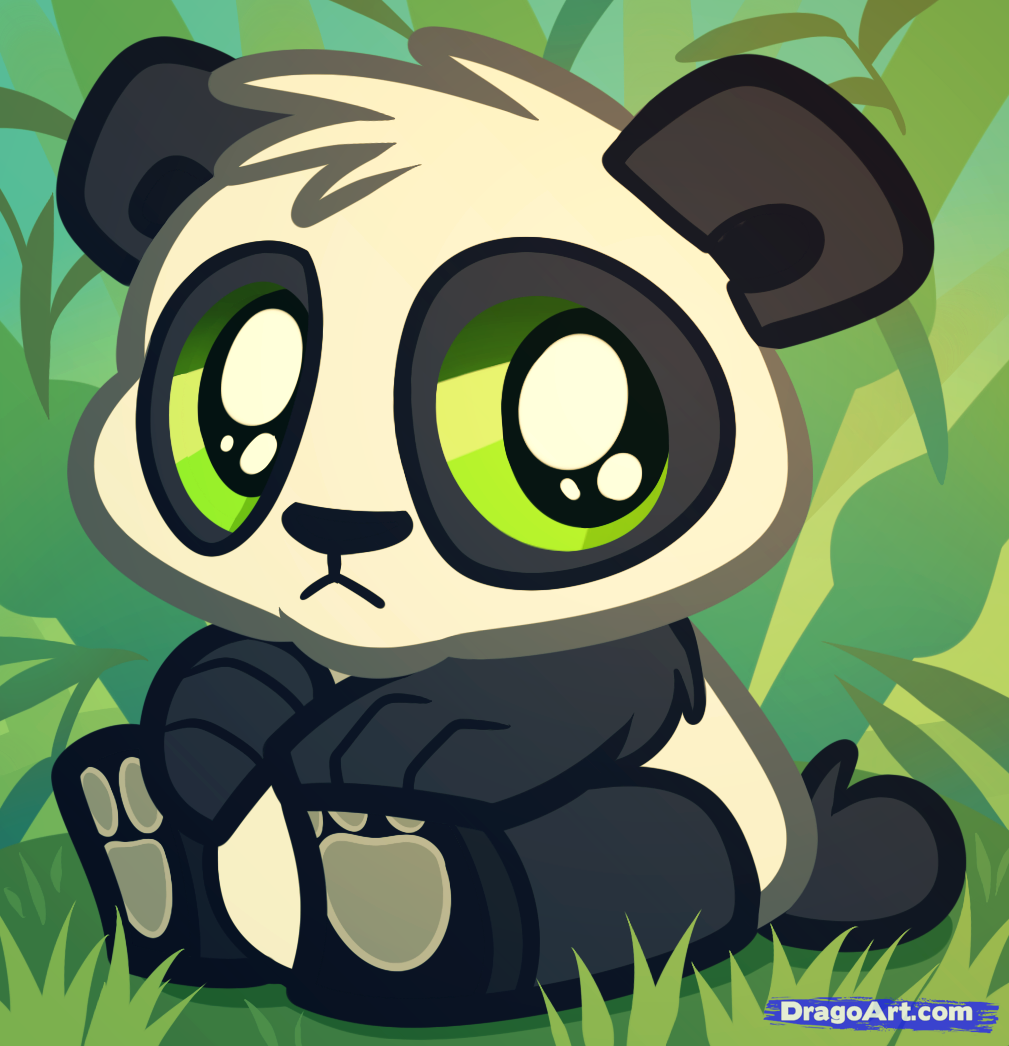 Drawn panda cute lil Cub Panda to Panda Art