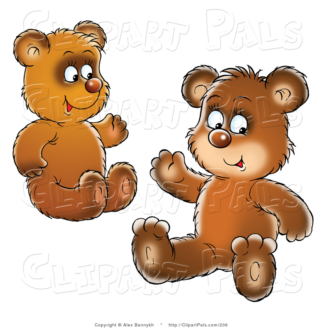 Bear clipart bear cub Collection Two Pal of art