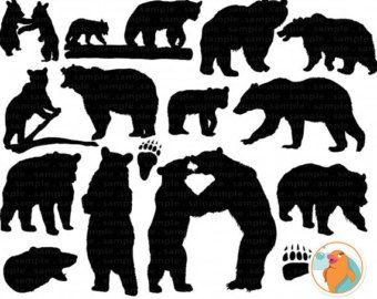 Larger clipart bear cub Pinterest images  on 120