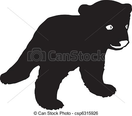 Bear Cub clipart drawn Clipart of Vector bear Vector