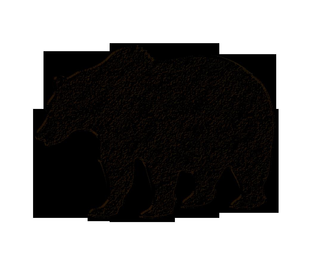 Black Bear clipart brown bear And  Top Image Bear