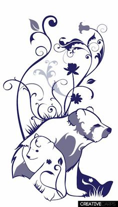 Bear Cub clipart momma Image tattoo momma cubs for