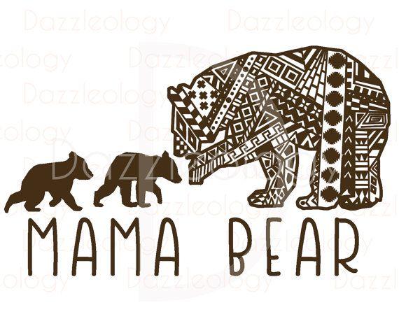 Larger clipart mother bear #13 Bear svg Download Cub