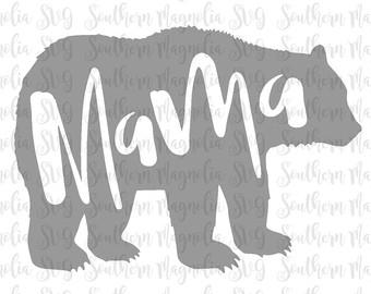 Bear Cub clipart momma Mama Etsy Mom Bear Bear