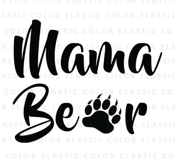 Bear Cub clipart momma Mama Mama mama file svg