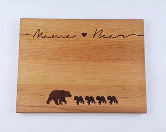 Bear Cub clipart momma Cub Gift Cutting Mama Board