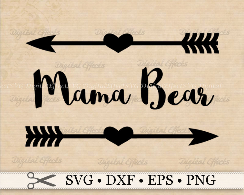 Bear Cub clipart momma Mama bear File with SVG