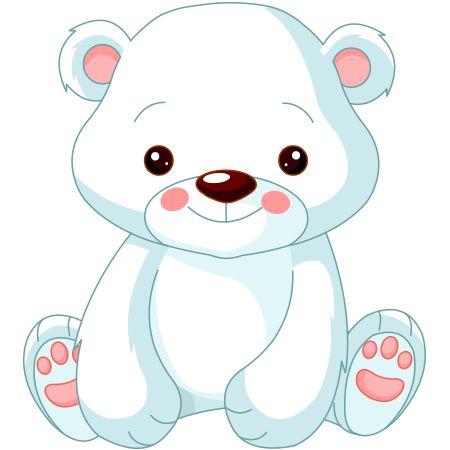 Drawn polar  bear little bear Sweet Polar bear Polar ideas